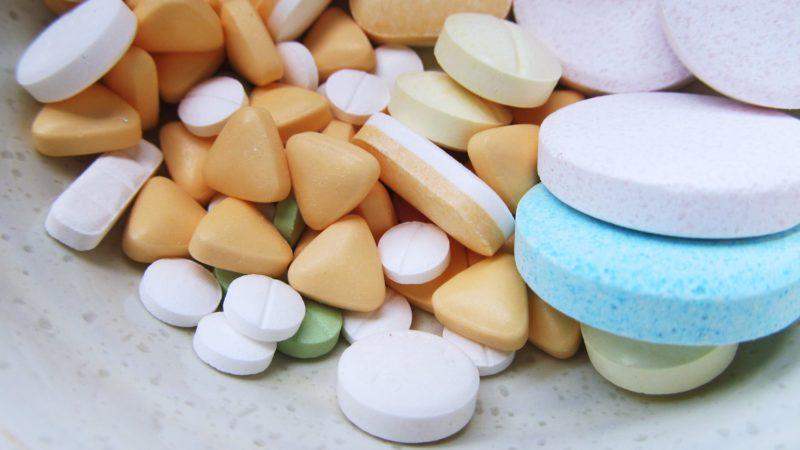 various assorted pills