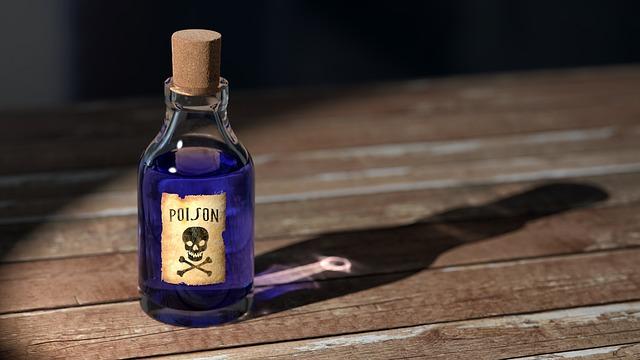 medicine poison dramatic